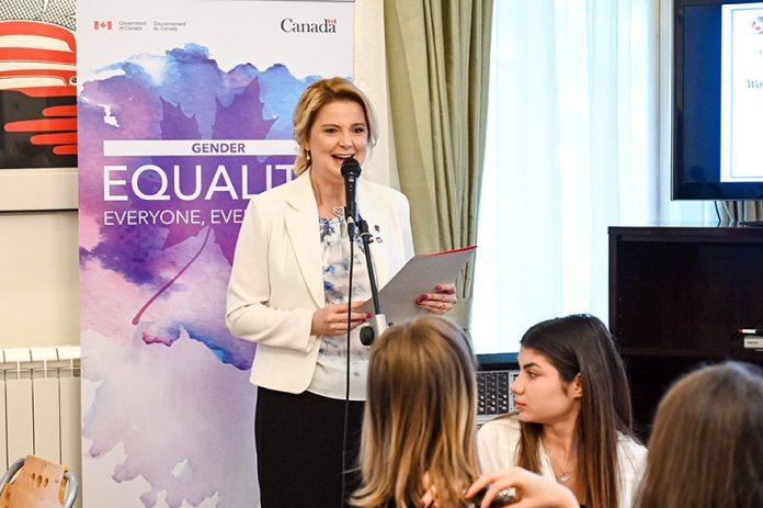 Mirjana Doncic-Beaton CANSEE Women's Empowerment Breakfast