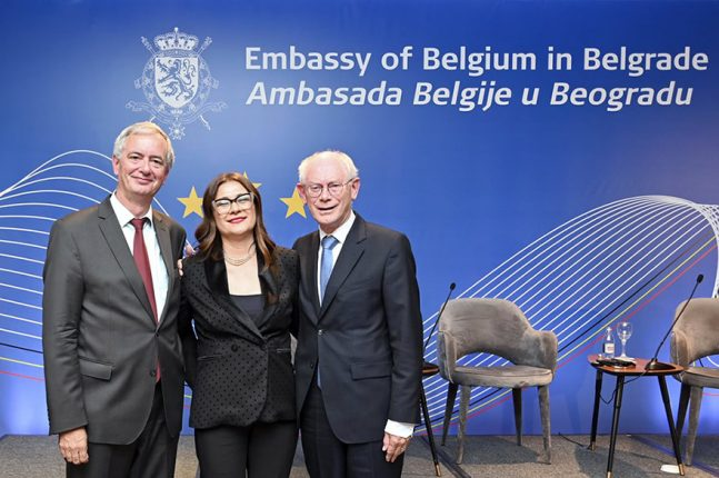 Herman Van Rompuy Vucic Conference The EU and Serbia: Shared Destiny