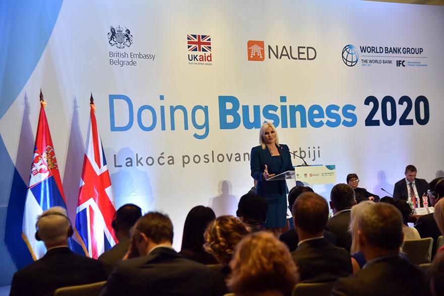 Doing Business 2020 Zorana Mihajlovic