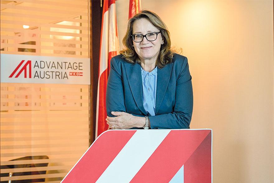 Erika Teoman Brenner, Austrian Embassy In Belgrade