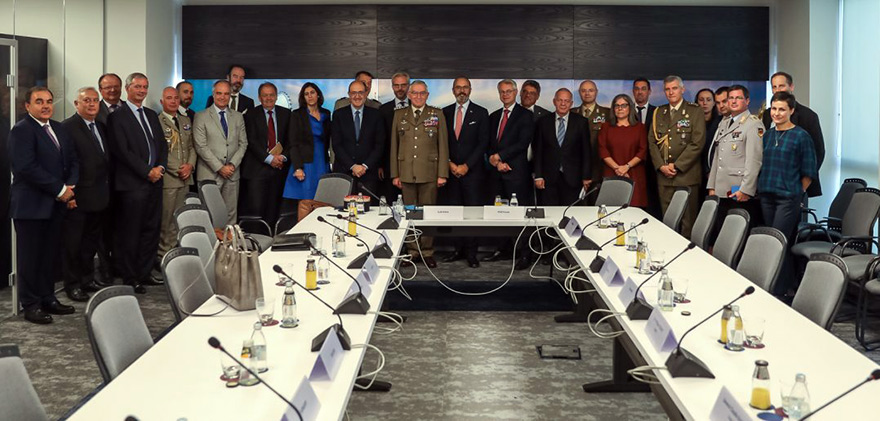 European Union Military Committee (EUMC) Chairman Claudio Graziano completed a two-day visit to Serbia