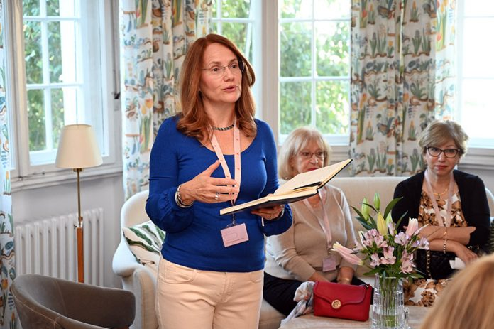 Milica Lundin International Women's Club (IWC) at Swedish Residence