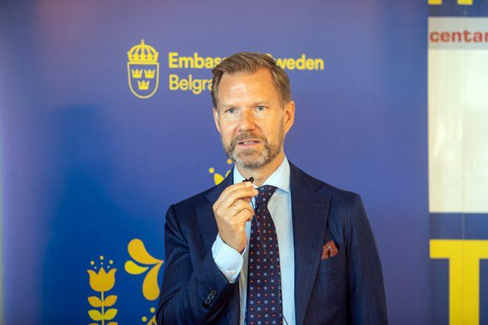 Swedish Embassy Hosts Food For Tomorrow Joachim Waern