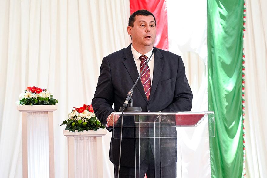 Republic Day of Hungary Ambassador Attila Pinter
