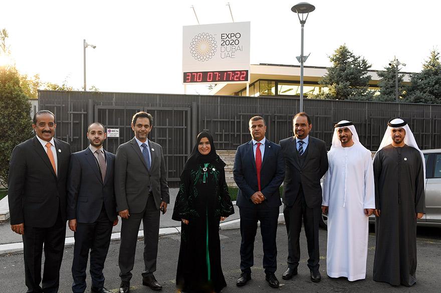 One Year Countdown to the Expo 2020 Dubai Mubarak Saeed Al Dhaheri