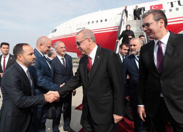 President Erdoğan visit Serbia Aleksandar Vucic Tanju Biglic