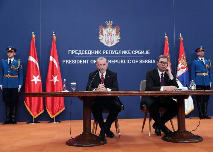 Erdoğan Vučić Serbia