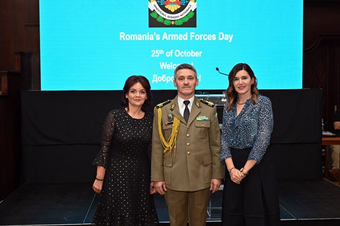 Romanian Armed Forces Day Marked Oana Cristina Popa