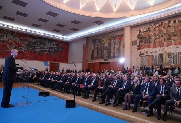 Erdogan Serbia Turkey business forum 2019