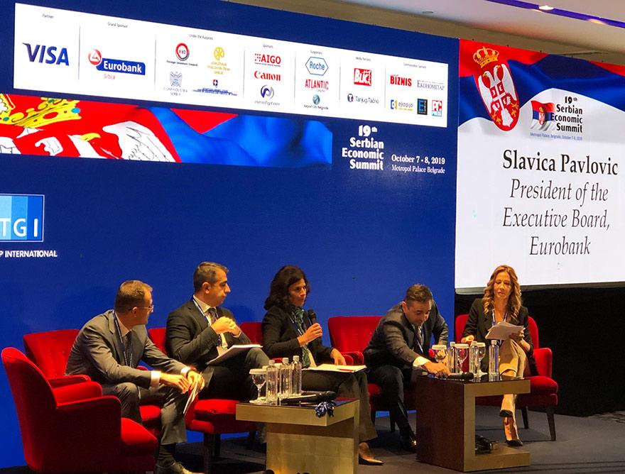 Serbian Economic Summit sponsored by Eurobank