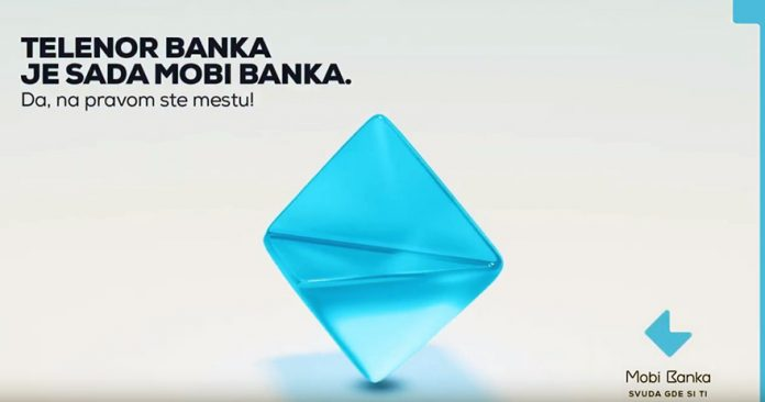 Telenor banka is now Mobi Banka