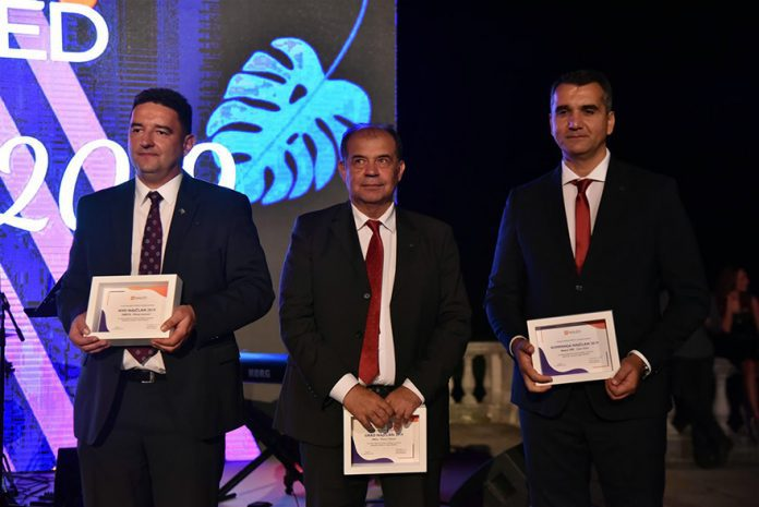 Dejan Djokić, Tihomir Petković and Milivoje Jovanović, Top NALED members 2019