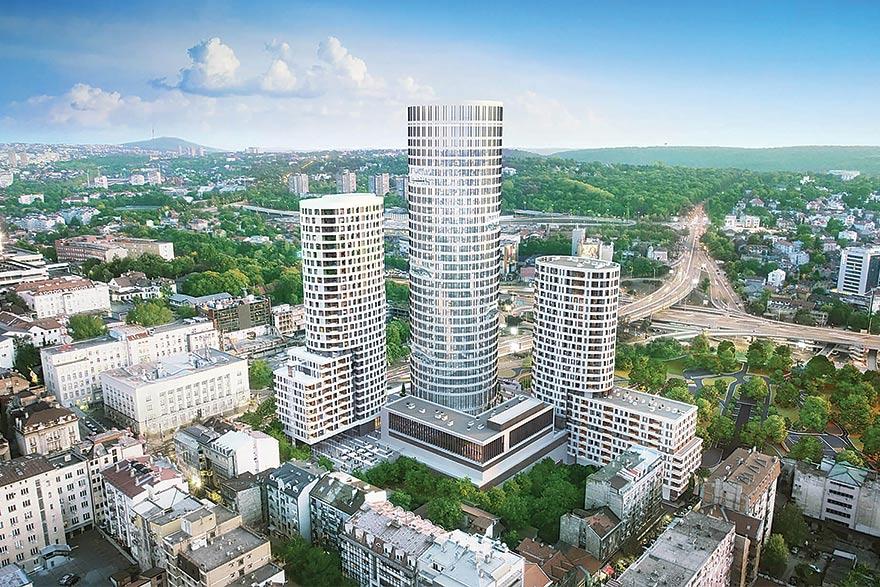 Skyline Belgrade