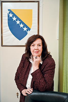 Aida Smajić, Ambassador of Bosnia and Herzegovina to the Republic of Serbia