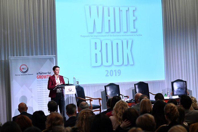 Ana Brnabic FIC White Book 2019
