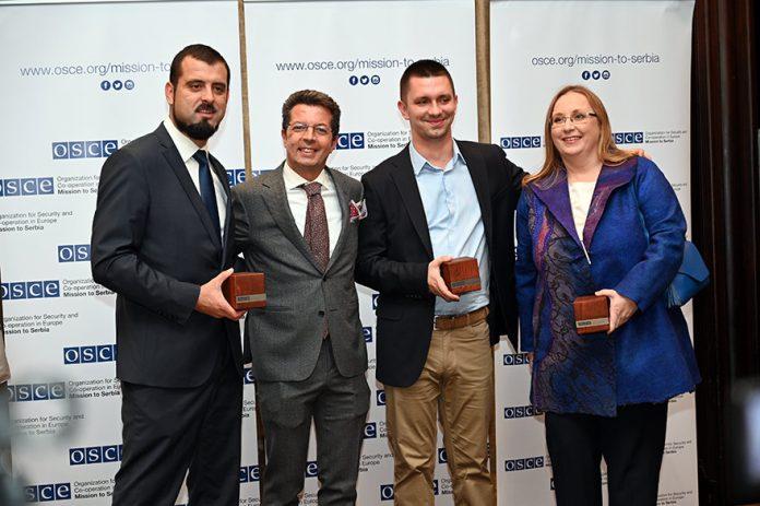 OSCE Mission to Serbia Presents 2019 Person of the Year Award Andrea Orizio