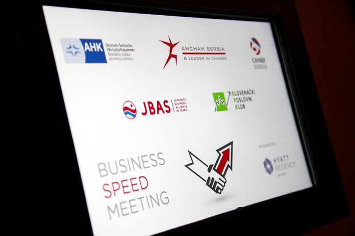 Speed Business Meeting November 2019