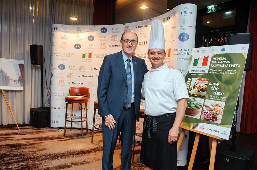 Carlo Lo Cascio Week of Italian Cuisine in The World
