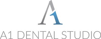 A1 dental studio logo
