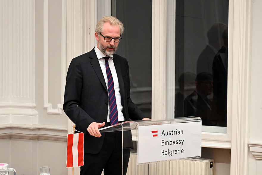 Austrian Embassy Hosts Archeology Lecture Lutterotti