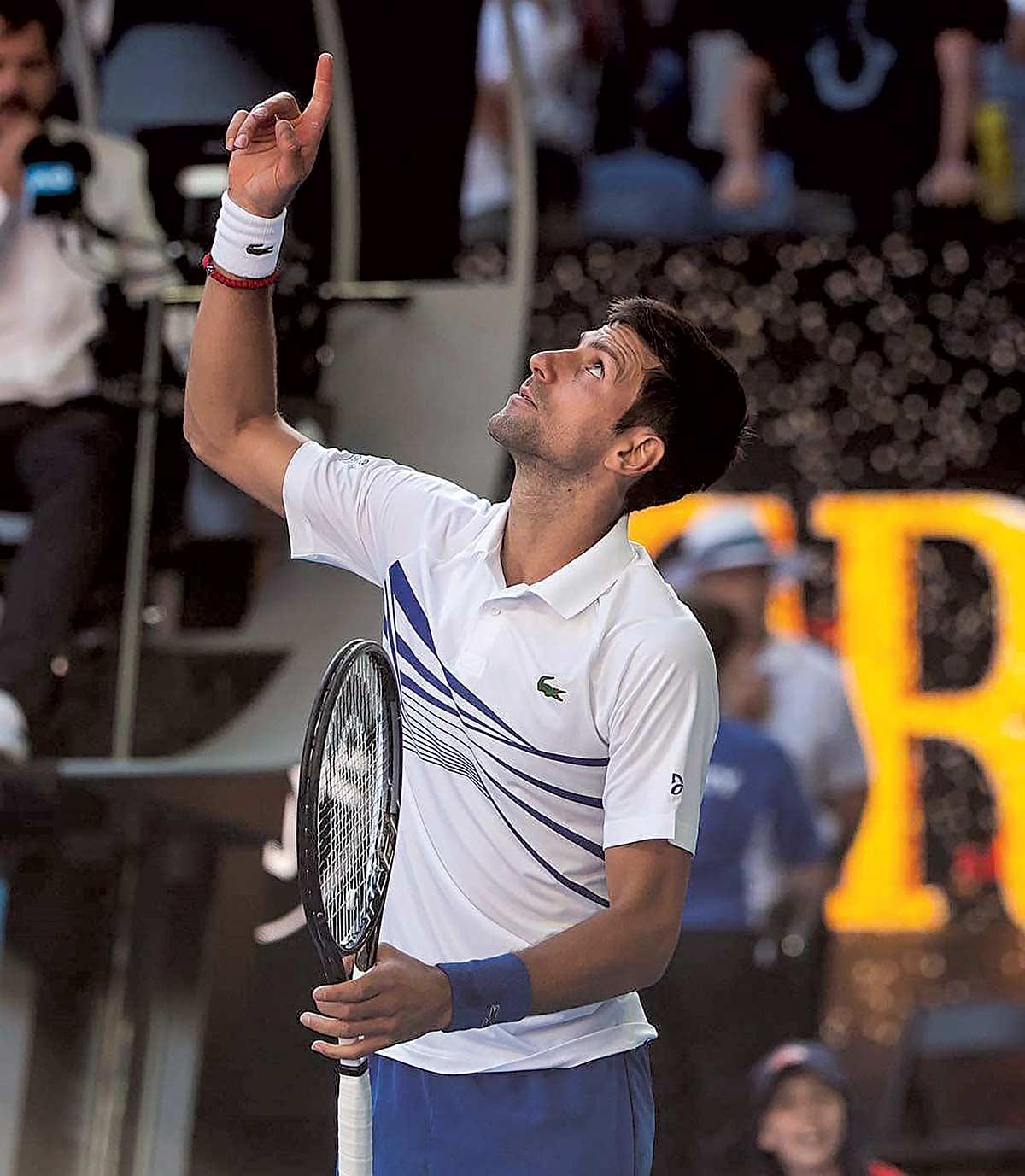 Novak Djokovic Australian Open 2019
