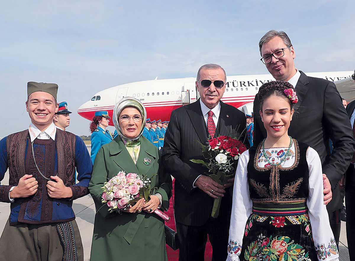 Turkish President Erdoğan Visits Serbia