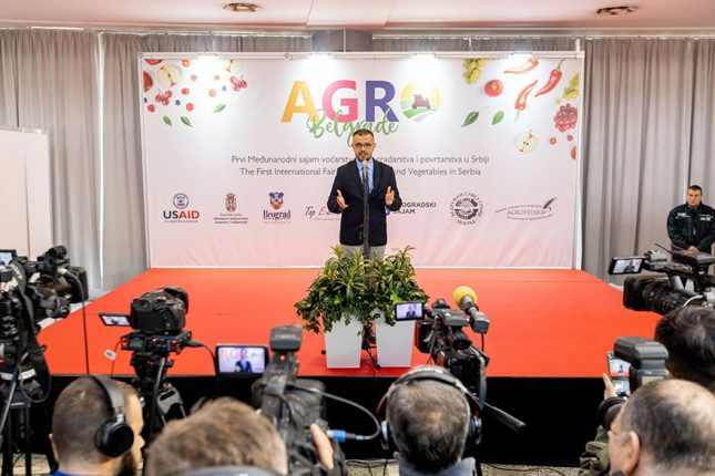First international specialized fruit and wine fair in Serbia Nedimovic