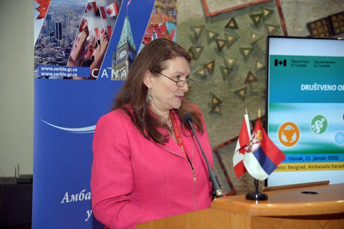 Kati Csaba Ambassador of Canada to Serbia
