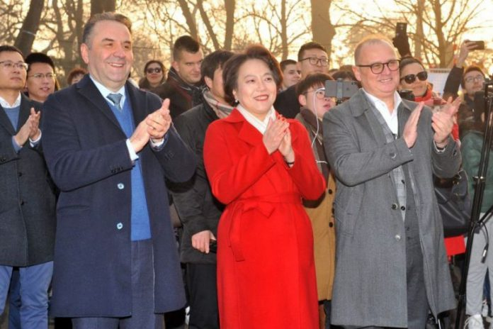 Chen Bo Rasim Ljajic Goran Vesic Chinese New Year 2020