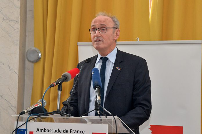 Jean-Louis Falconi 180 Anniversary of the diplomatic relations between France and Serbia