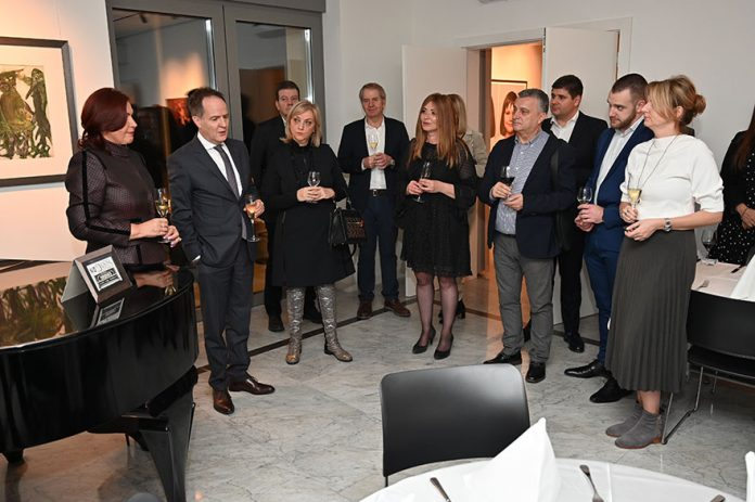 Ambassador of Switzerland Hosts Swiss Raclette Evening Philippe Guex Yana