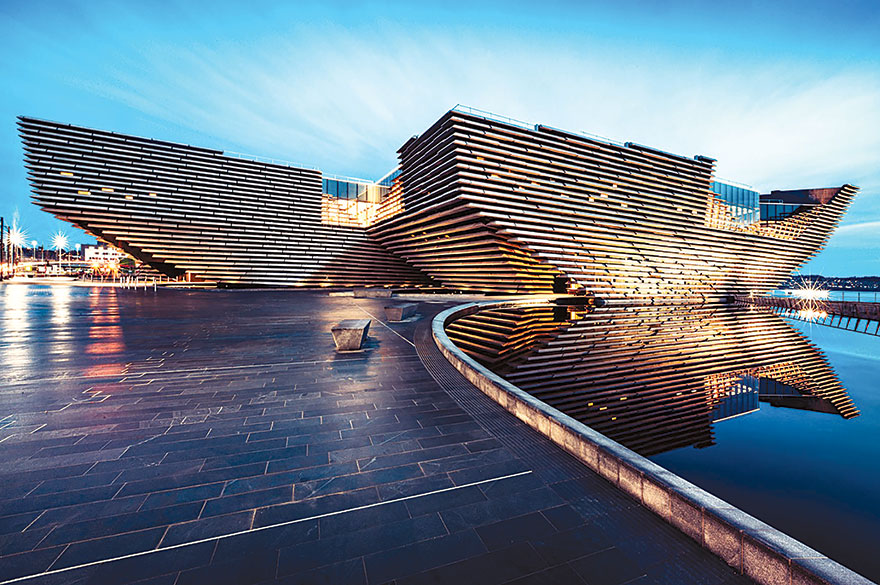 V&A DUNDEE IN SCOTLAND