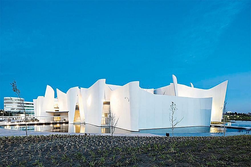 THE MUSEO INTERNACIONAL DEL BARROCO IN PUEBLA, MEXICO, DESIGNED BY TOYO ITO