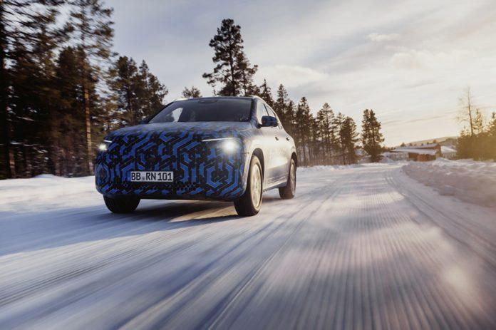 Mercedes-Benz teases EQA electric car