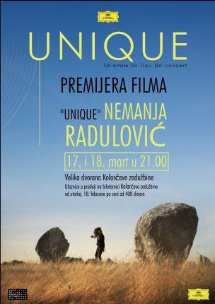 Nemanja Radulovic Film Unique poster