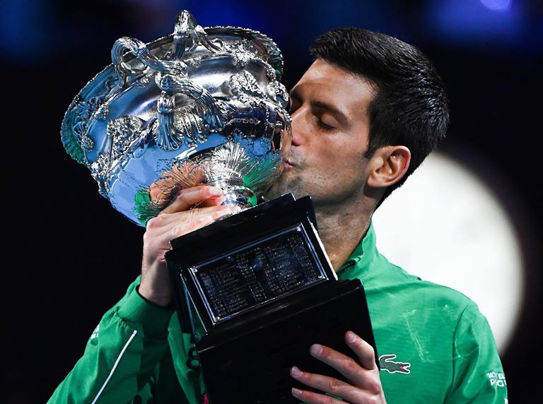 Djokovic Australian Open champion for eighth time 2020