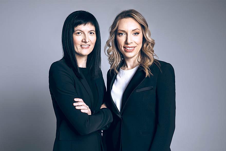 Tamara Bekčić and Milena Avramović,