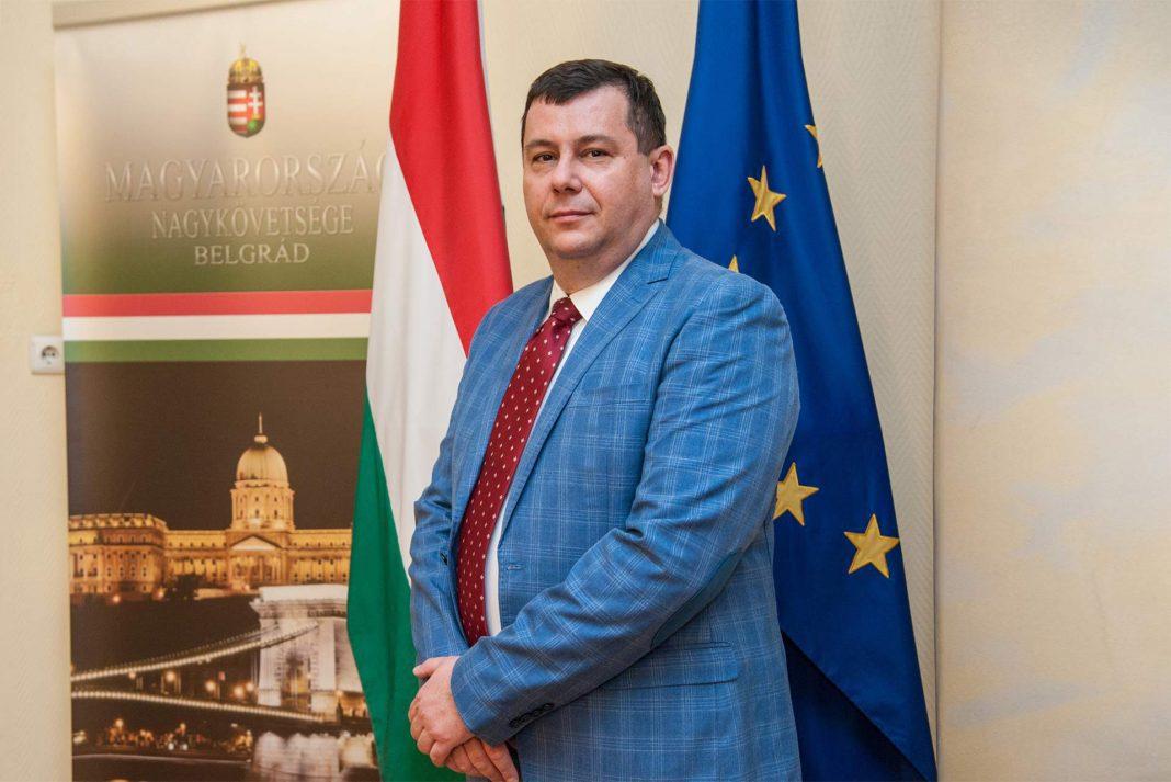 Attila Pintér, Ambassador of Hungary to Serbia