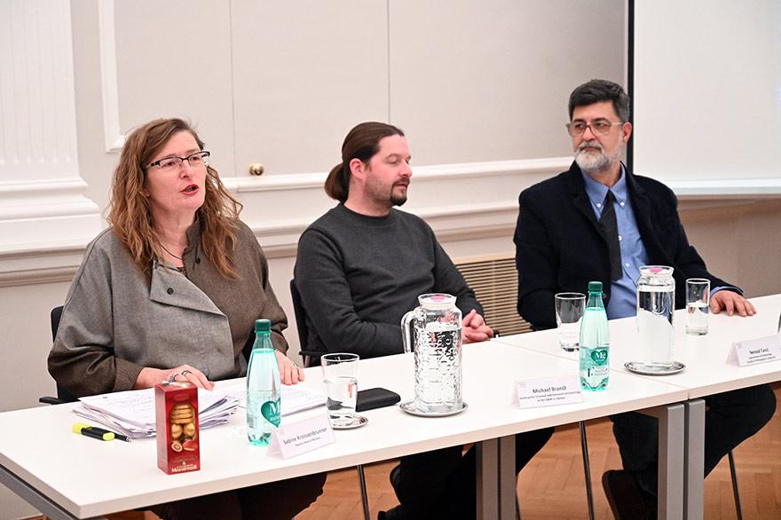 Austrian Embassy Hosts 'Archeology Of The Modern Era' Event Kroissenbruner