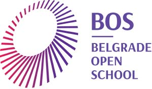Belgrade Open School Logo