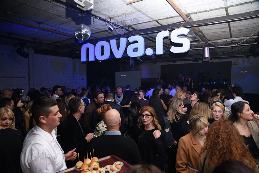 Launch of website Nova.rs