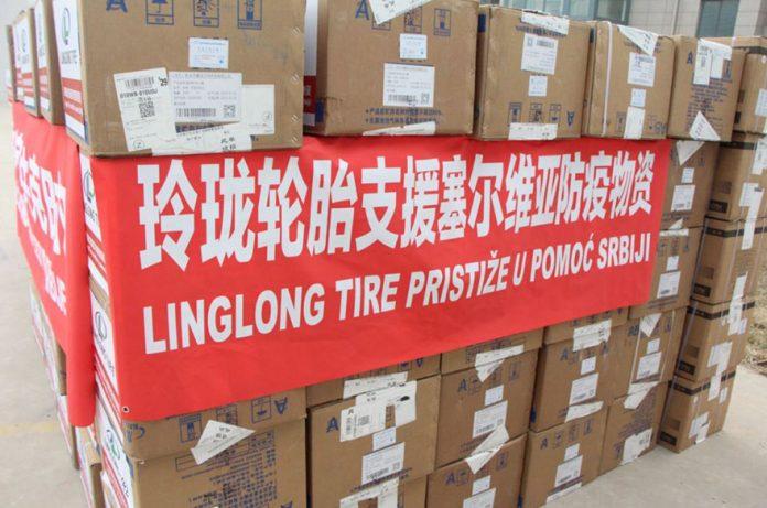 Chinese Shandong Lingdong donates masks