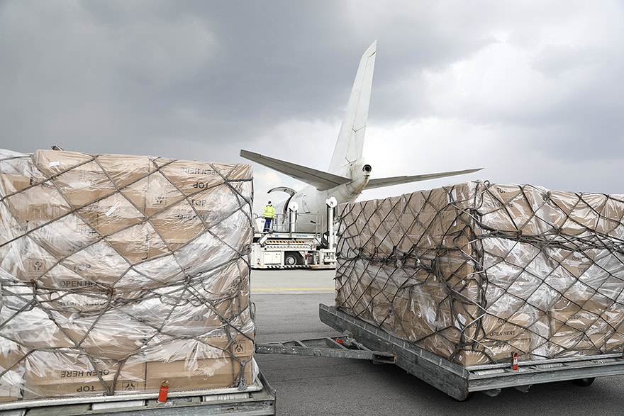 EU sends another 90 tonnes of medical equipment to Serbia package