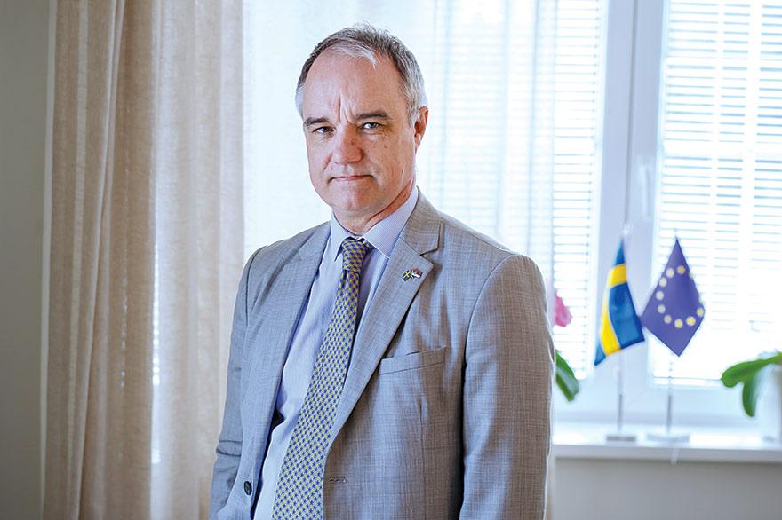 Jan Lundin Ambassador of Sweden to Serbia