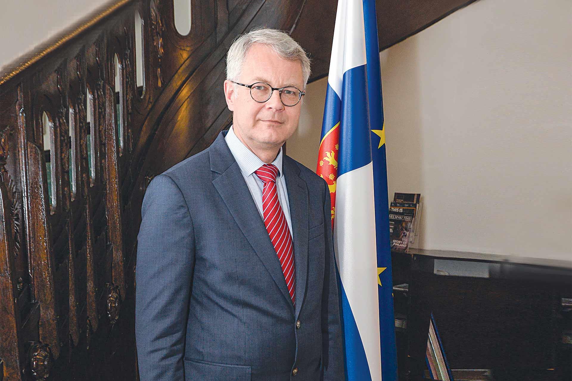 Kimmo Lähdevirta Ambassador of Finland to Serbia