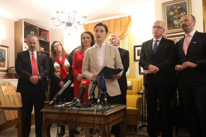 Opening of the Nobel Prize Salon Ana Brnabic