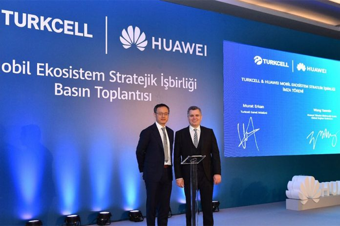 Turkcell Inks Deal to Use Huawei's Mobile App
