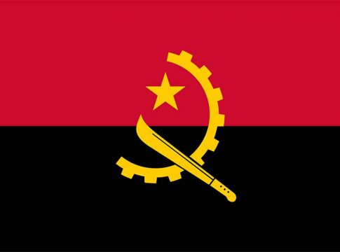 Angola flag zastava