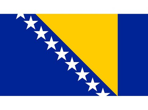 Bosnia And Herzegovina flag Bosnia i Hercegovina