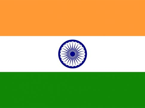Embassy Of The Republic Of India flag Indije